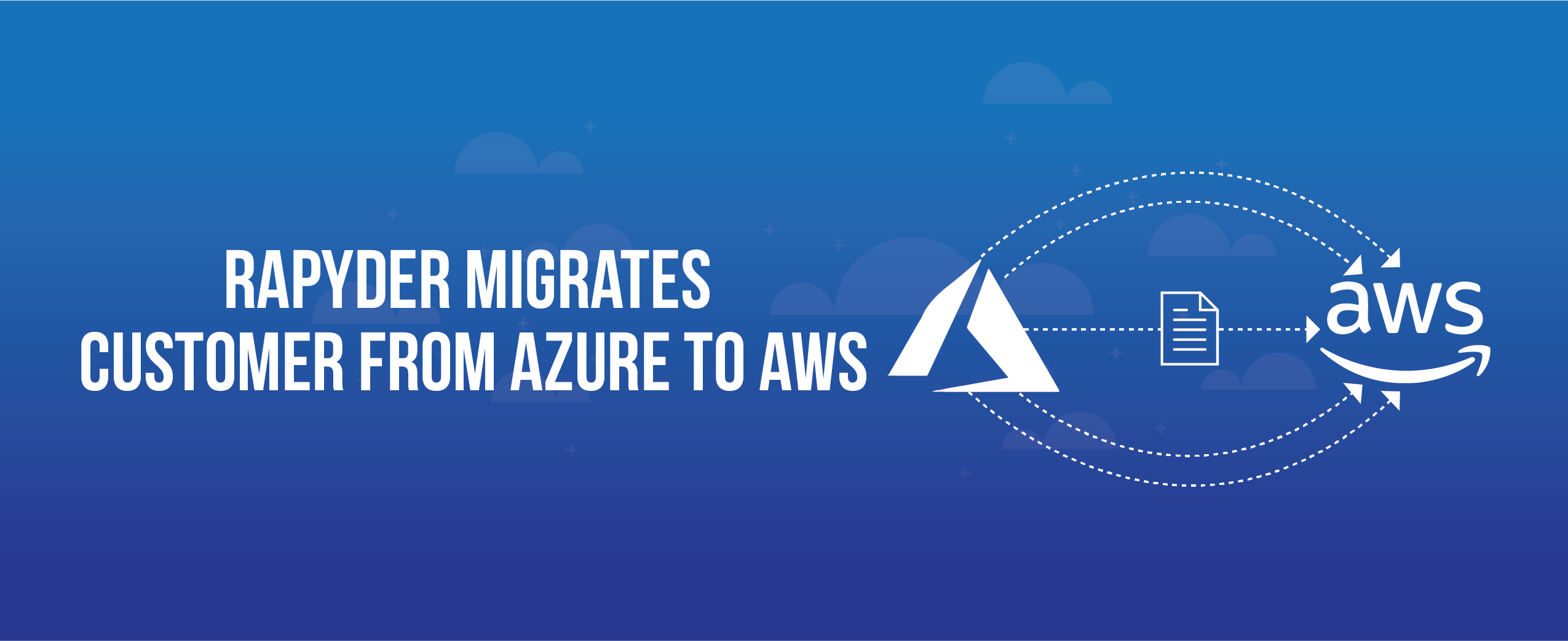 Customer Migration 04 - Customer Migrates from Azure to AWS