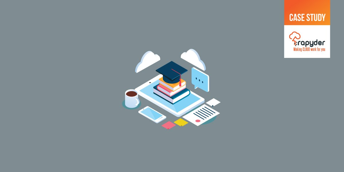 Edu CaseStudy Banner - RAPYDER HELPS AN E-LEARNING ORGANIZATION SECURE THEIR INFRASTRUCTURE ON AWS