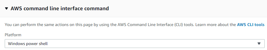 AWS command line interface command 2 - Monitoring Applications with Custom CloudWatch Metrics Using AWS Systems Manager