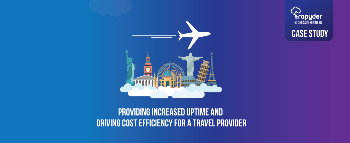 AWS Case Study for Travel Travel provider increases uptime and reduces its cloud spend - Travel Provider Increases Uptime and Reduces Cloud spend with AWS