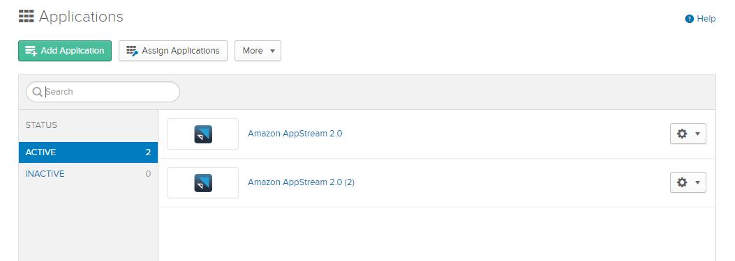 Amazon AppStream 3 - Amazon AWS AppStream 2.0 and Okta SAML Integration