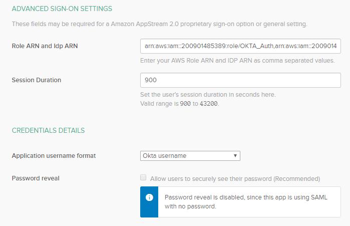 Amazon AppStream 8 - Amazon AWS AppStream 2.0 and Okta SAML Integration