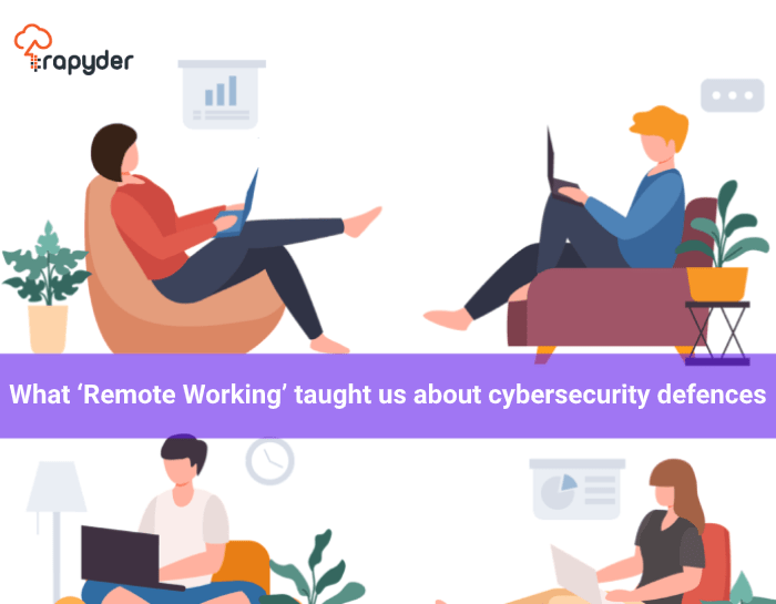 3 ways 1 - What 'Remote Working' taught us about Cybersecurity Defences
