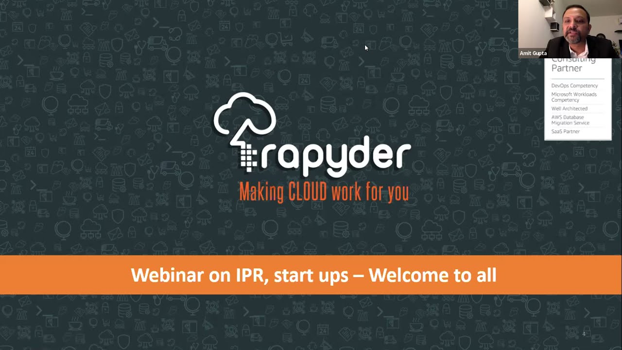 Webinar Software products with IPR can be made in India