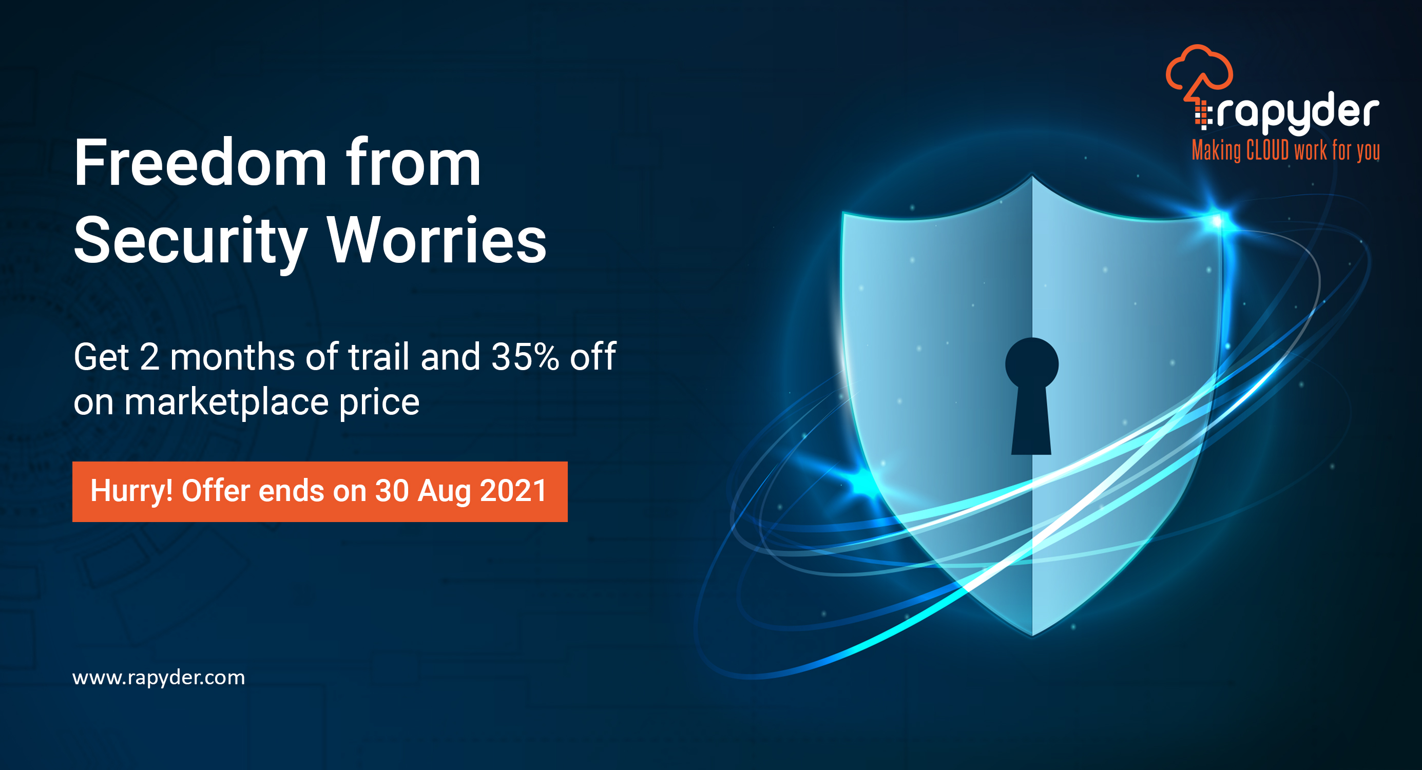 Freedom from Security Worries with Rapyder Cloud Solutions