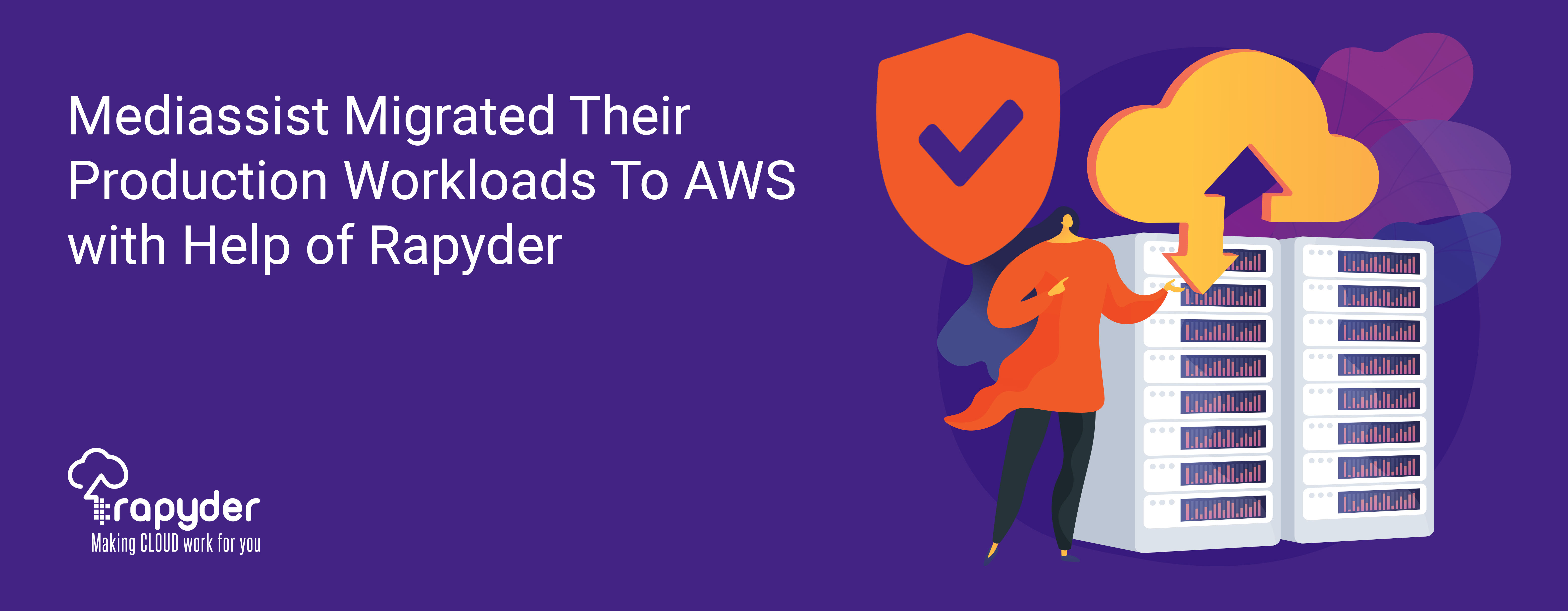 Mediassist Migrated Their Production Workloads To AWS with Help of Rapyder